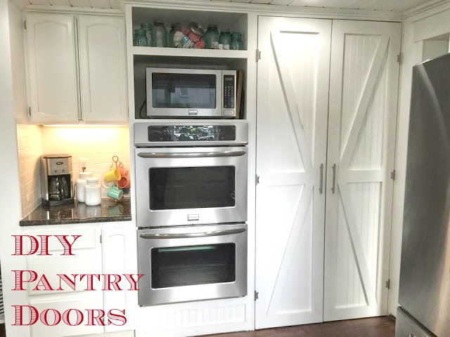 DIY Barn Style Pantry Doors