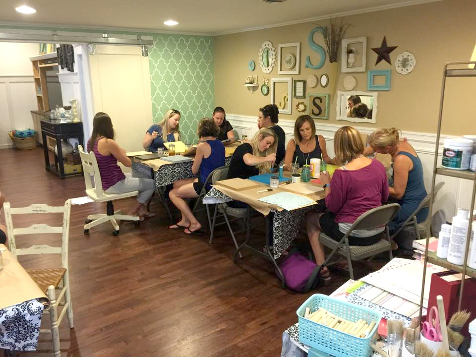 craft club ladies night in out diy